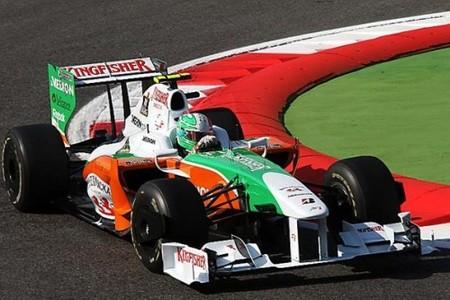 Adrian Sutil y los Renault los más rápidos de la segunda sesión