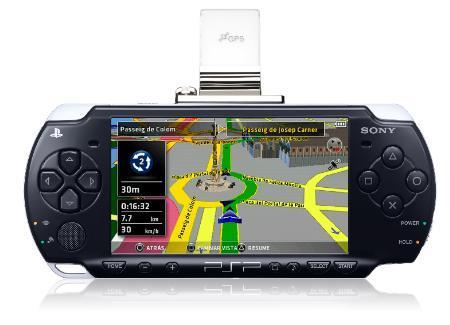 Go!Explore, GPS para PSP en España