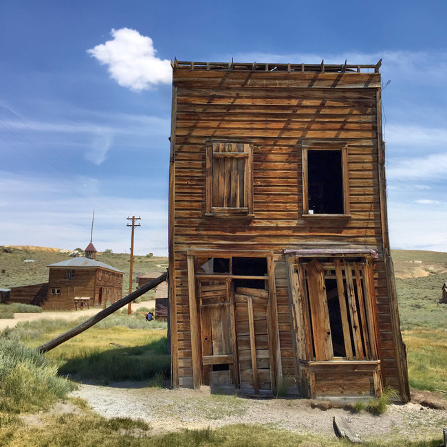 This Ole House Bodie Ghost Town California Usa