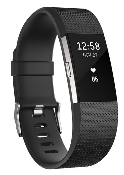 Pulsera de actividad Fitbit CHARGE 2 Negra Grande