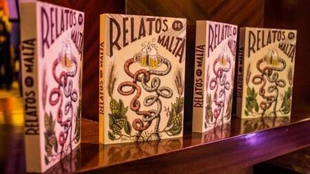 Relatos de malta. Un libro de Grupo Modelo sobre cerveza hecho con cerveza