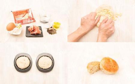pan de jamón serrano