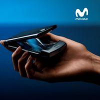 Precios del Motorola Razr plegable con tarifas Movistar
