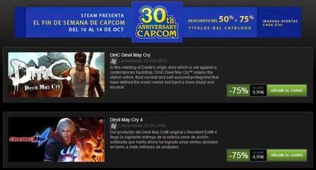 Fin de semana loco de Capcom en Steam por su 30 aniversario