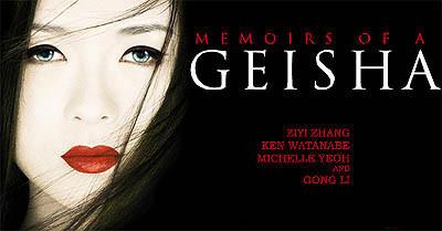 'Memorias de una geisha', el sacrificio de una geisha