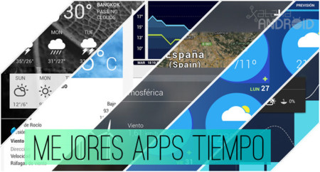 Las 5 mejores aplicaciones de tiempo en Android