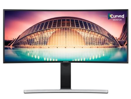 Samsung presenta cinco nuevos monitores: todos con panel curvado