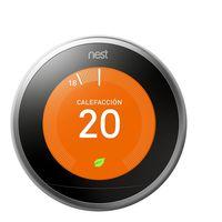 Termostato inteligente Nest T3010IT, compatible con iOS y Android, ahora con un 21% de descuento