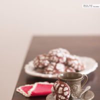 Red velvet cookies. Receta con y sin Thermomix