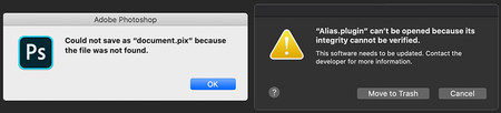 Problemas Mac Os Catalina Photoshop Lightroom 03