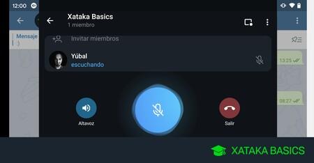 Chat de voz de Telegram: cómo iniciarlos para charlar en tus grupos