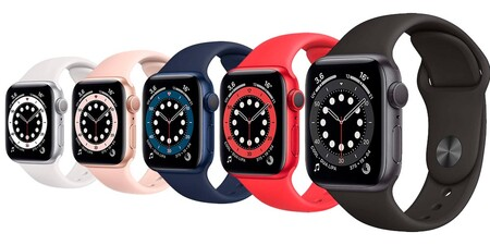 Apple Watch Series 6 Colores