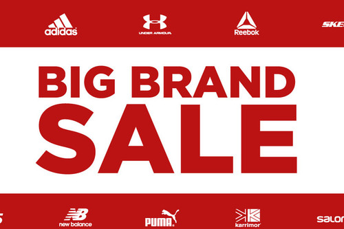 Big Brand Sale en Sports Direct: rebajas y descuentos en Puma, Reebok, New Balance o Adidas durante esta semana