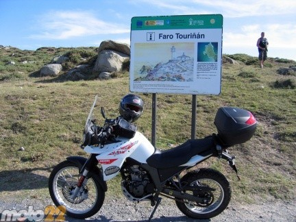 Derbi Terra Adventure 125 Estaca de Bares-Touriñán