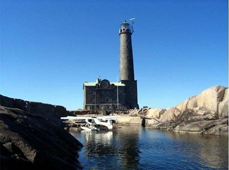 Finlandia: hotel, historia y hermosas vistas en el Faro de la Isla de Bengtskär