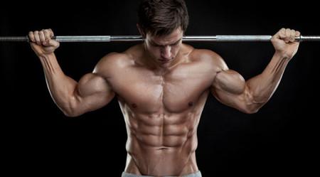 Abdominales con buen volumen muscular