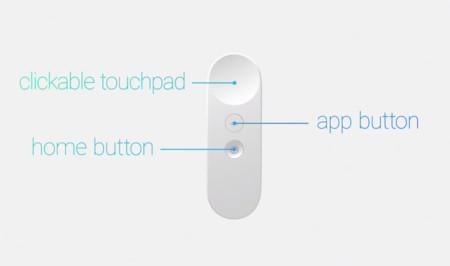 Así será el control de Daydream, la plataforma VR de Android