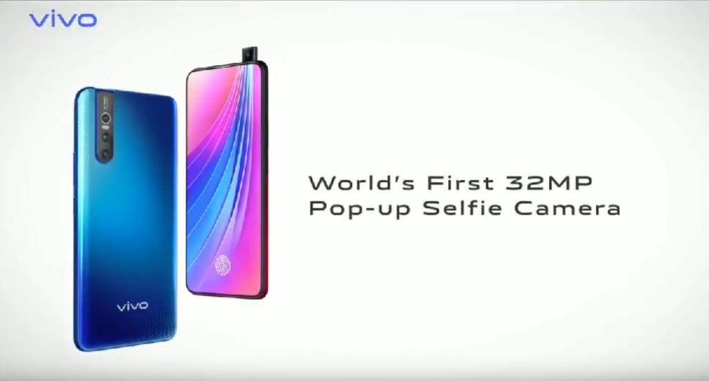 El Vivo V15 Pro se deja ver en un vídeo promocional que confirma su cámara frontal retráctil de 32 megapíxeles