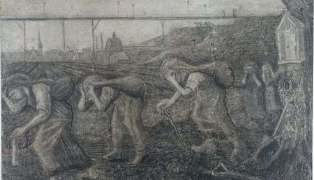 Charbonnages por Vincent Van Gogh