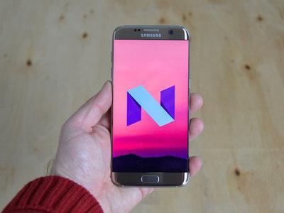 La versión final de Android 7.1.1 Nougat para los Samsung Galaxy S7 y S7 edge llegará en enero