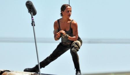 Primer vistazo a Alicia Vikander como Lara Croft, la imagen de la semana