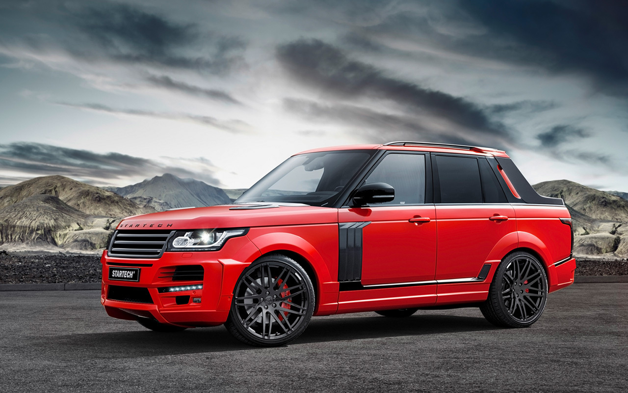 Foto de Range Rover pick-up by Startech (1/8)