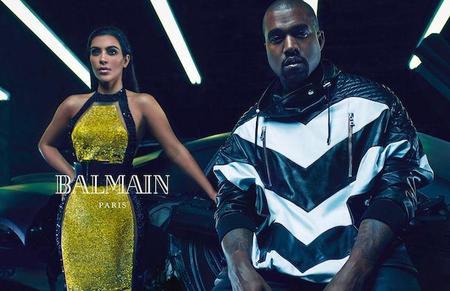 Uh Huh Honey Kim Kardashian And Kanye West Are The New Faces Of Balmain Body Image 1419259560