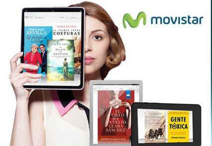 Movistar ofrece a sus clientes de Fusión acceso gratis a la biblioteca online de Nubico durante un mes