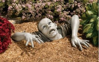 Muertos vivientes para el jardín