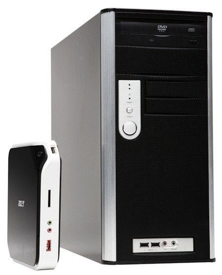 Acer AspireRevo comparison