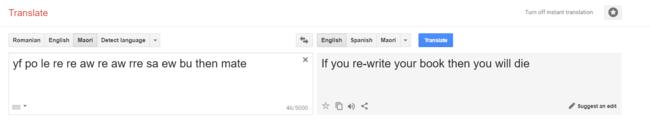 Traduccion Del Terror