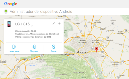 Admi De Dispositivos Android Perdido