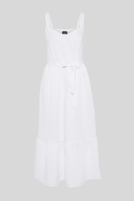 Sara Carbonero Vestido Blanco 1 C A