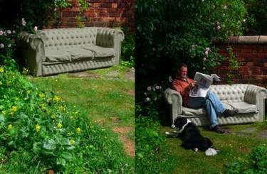El sofá Chester, ahora también en hormigón