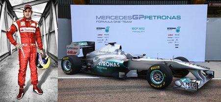 """Temporada 2011 de Fórmula 1: Felipe Massa y Mercedes GP son vuestros favoritos a """"decepción"""" de la temporada"""
