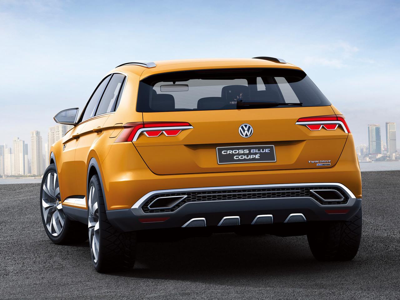 Foto de Volkswagen CrossBlue Coupe Concept (6/25)