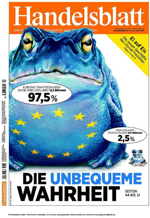Handelsblatt Portada1307