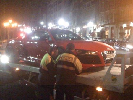 Audi R8 Grua Vigo