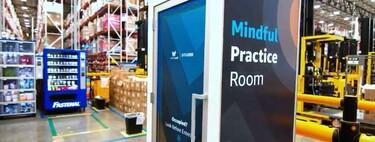 Cabinas mindfulness: la nueva y distópica solución de Amazon para relajar a sus empleados sobrecargados
