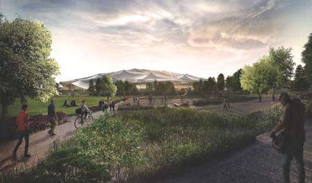 Una tienda de campaña gigante para los nuevos cuarteles generales de Google