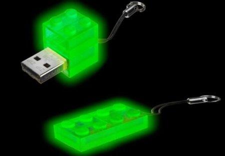 Memoria USB que brilla en la oscuridad