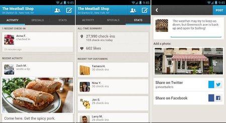 Foursquare for business, aplicación para administrar nuestro negocio en la red social