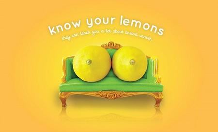 Conoce a tus limones: una nueva campaña para prevenir el cáncer de mama