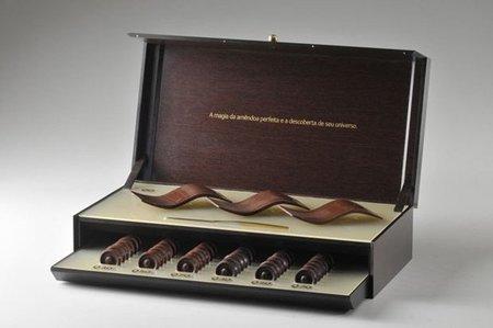 Q, arquitectura comestible en chocolate por Oscar Niemeyer y Aquim