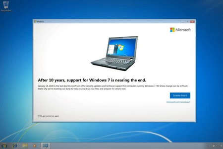 Windows 7 desactualizado