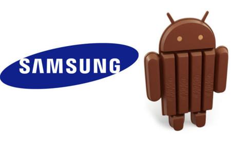 Estos son los terminales Samsung que tendrán Android 4.4