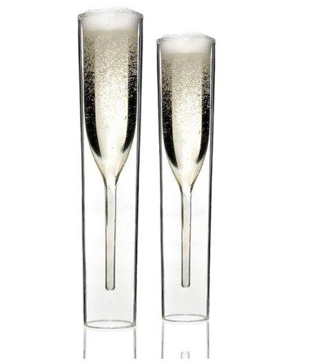 El Champagne ¿en copa o en vaso de tubo?