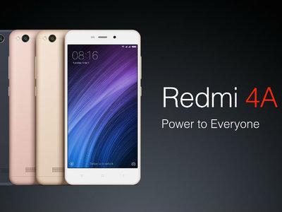 Xiaomi Redmi 4A, en versión global con 4G para España, por sólo 68 euros y envío gratis