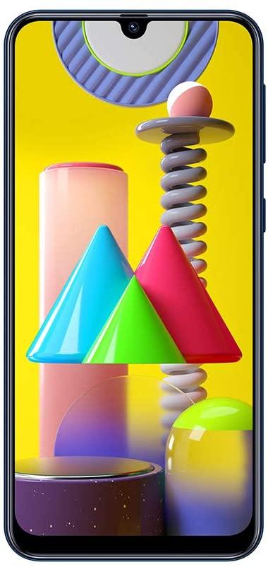 """Samsung Galaxy M31 pantalla 6.4"""", resolución 1080 x 2340 pixeles, batería 5000 mAh 6GB 128GB Azul"""