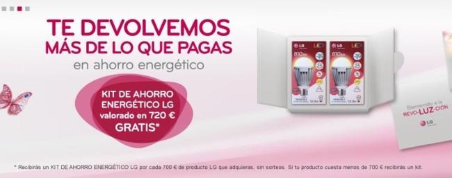 Kit de ahorro energético LG